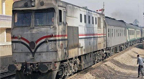 صدمه قطار في قنا