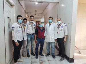 شباب الكشافة في نجع حمادي