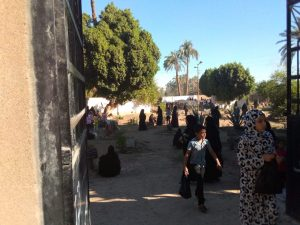 زيارات المقابر في العيد بقنازيارات المقابر في العيد بقنا