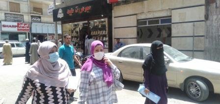 حملة ضبط المتسولين نجع حمادي