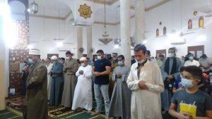 صلاة العيد بنجع حمادي