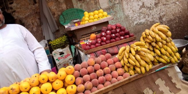 الخضروات والفاكهة في قنا