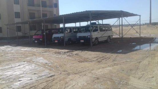 موقف سيارات قرية بركة نجع حمادي