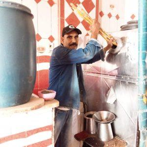 بائع عصير القصب في أبوتشت