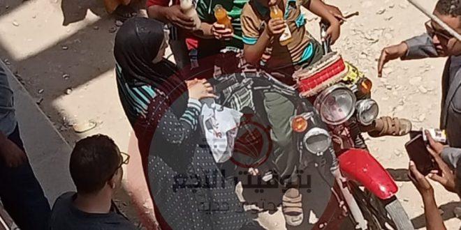 المتهمة بقتل أطفالها بفرشوط