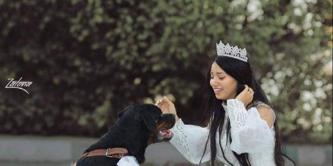 فتاة تزوجت من كلب