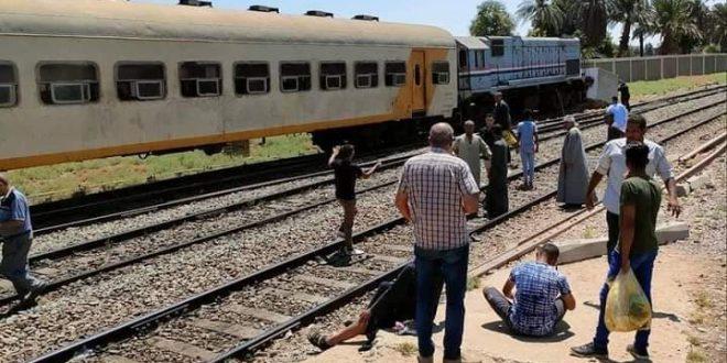 حادث قطار نجع حمادي