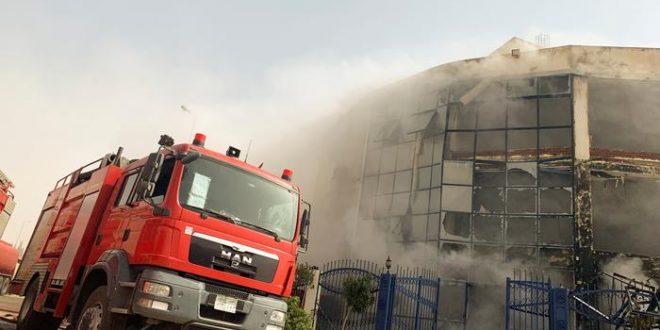 حريق في نجع حمادي مركز دشنا