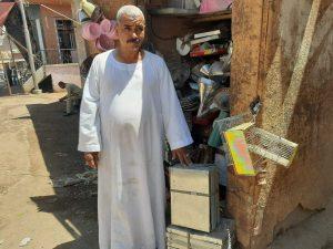 أقدم صانع صاج في فرشوط